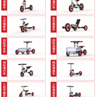DIY Modular Constructible Rides Kit (10in 1)