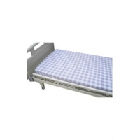 Hospital Bed Sheet Checkered Pattern