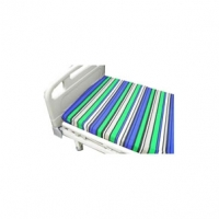 Hospital Bed Sheet Pure Blue Horizontal