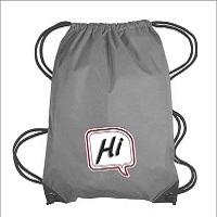 Custom Polyester Backpack Drawstring Bag