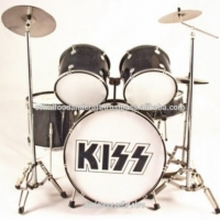 Miniature Drum Set Kiss Cymbal Brass Material