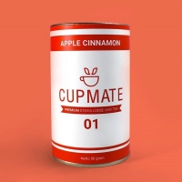 Cupmate Premium Tea Cinnamon Apple Stevia Leaf