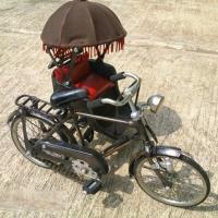 Miniature Bicycle Metal Material Malaka Becak
