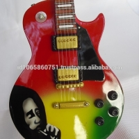 Miniature Guitar Gibson Les Paul Bob Marley