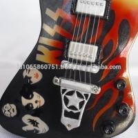 Kiss Custom Miniature Guitar Washburn