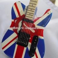 Miniature Guitar Custom Rolling Stones