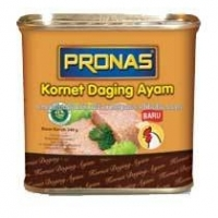 Corned Chicken 340g Canned Meat Pronas Luncheon