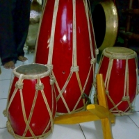 Gamelan Instrument-Kendang Set