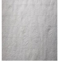 White Floral Tissue Paper Texture