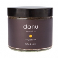Coffee And Orange Body Salt Scrub