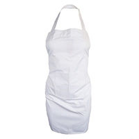 Full Apron White