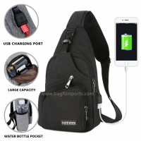 Small Travel Gym Bike Sling Bag