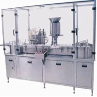 Vial Filling & Rubber Stoppering Machine