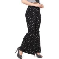 Elegore Women's Printed Bell Bottom Pant
