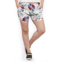 Elegore Women's Floral Elegant Shorts