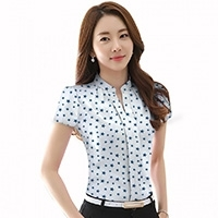 Women's Pullover Star Printed Shirt
