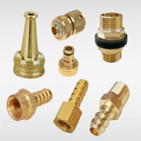 Brass Nozzle And Nipple