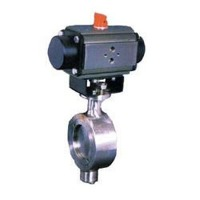 Wafer Type Offset Disc Butterfly Valve