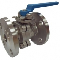 2 PC Flanged End Valve