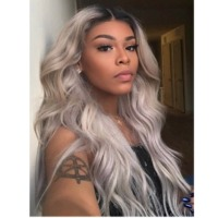 Indian Ombre Silver Remy Premier Hair