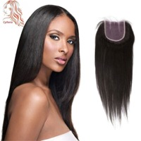 Top Closure Straight Hair