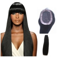 Lace Front Closure Straight Hair