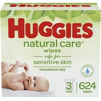 Huggies NaturalCare Unscented Baby Wipes
