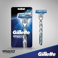 Gillette Mach3 Turbo Razors For Men