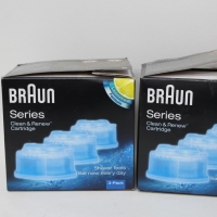 Braun Clean and Renew Cartridges Refills