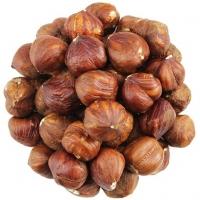 Raw Hazelnuts in Shell