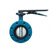 Butterfly Valve - Mv-26  - Flanged,  Lever