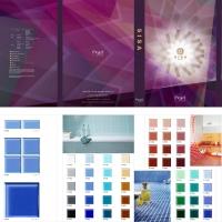 SISA Glass Mosaic Tiles Shade Card in 4mm