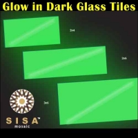 Night Vision Glass Mosaic Tiles