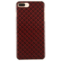 Iphone 7+/8+ Red Carbon And Aramid Fiber Case