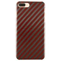 Iphone 7+/8+ Orange Carbon And Aramid Fiber Case