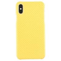 Quality Iphone X Yellow Aramid Fiber Case