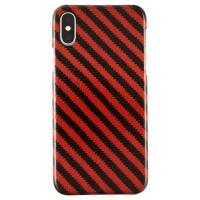 Iphone X Orange Carbon And Aramid Fiber Case
