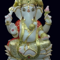 Ganesh Ji Marble Statue By Dynamic Exports Supplier From India