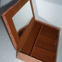 Genuine Leather Cosmetic Box