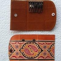 Genuine Leather Key Purse