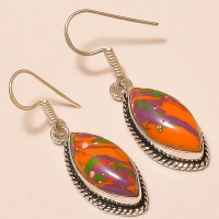 German Silver Jewellery Gemstone Earrings