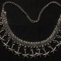 Silver Oxidizied Jewellery Necklace