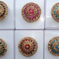 Round Assorted Rhinestone Ring