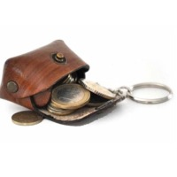 Key Ring With Coin Box