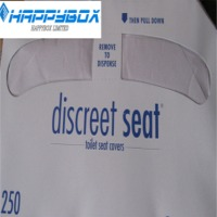 1/2 Fold Paper Disposable Toilet Seat Cover