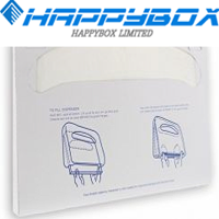 1/16 Fold Toilet Seat Cover Paper