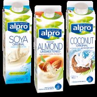Alpro Non Dairy Milks