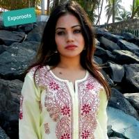 Ladies Kurti / Suits with Lucknow Chikankari