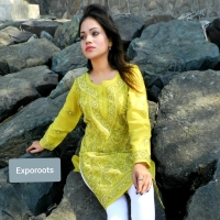Designer Kurti / Top Ladies - Hand Embroidery