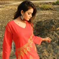 Ladies Designer Embroidery Kurti